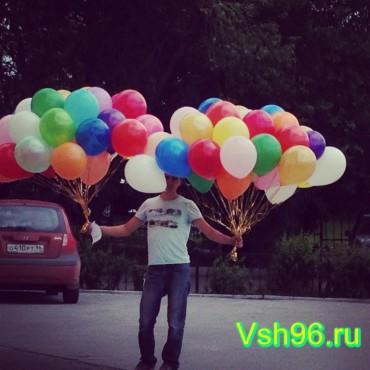 Облако шаров эконом (100 шт)